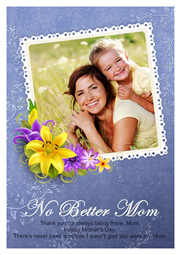 great greeting card only for mom