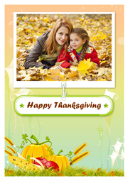 thanksgiving card with sweet times