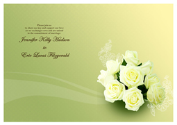 Thanks Card Sample. Wording For Wedding Card Thank You ...