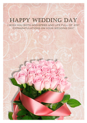 great wedding wishes card sample