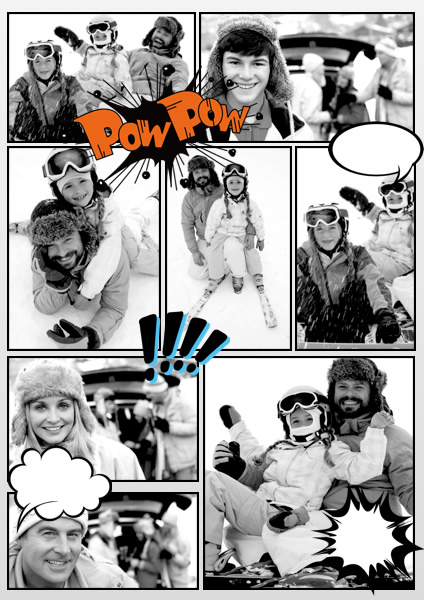 Comic samples templates make a comic book picture collage maker sound effect comic collage maxwellsz