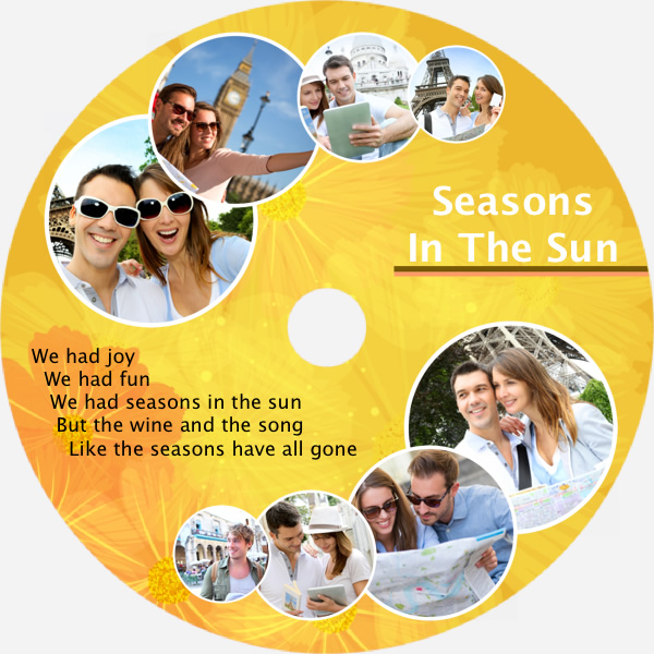Disk Cover Templates Samples Cd Cover Maker Picture Collage Maker