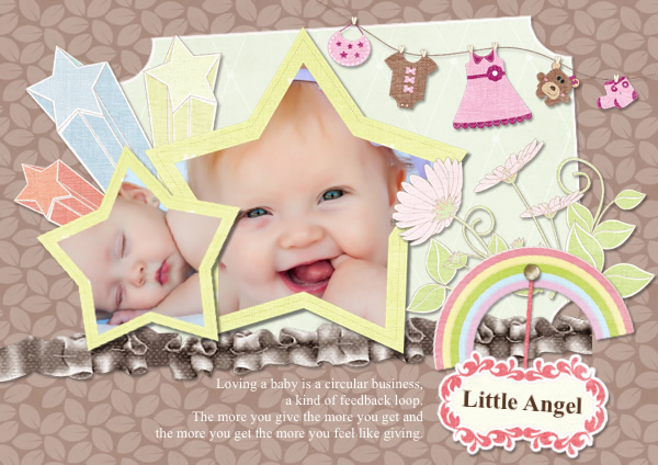Greeting card samples templates photo greeting cards picture cute baby girl greeting card template maxwellsz