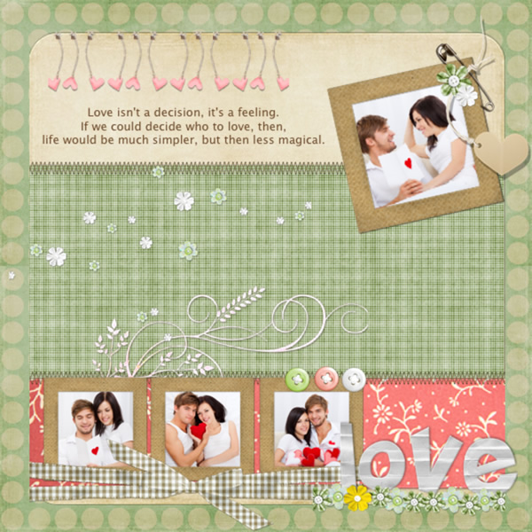 Scrapbook Templates Samples