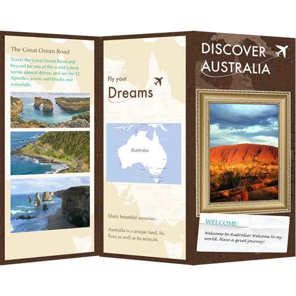 travel and tourism brochure templates free - brochure templates samples brochure maker publisher plus