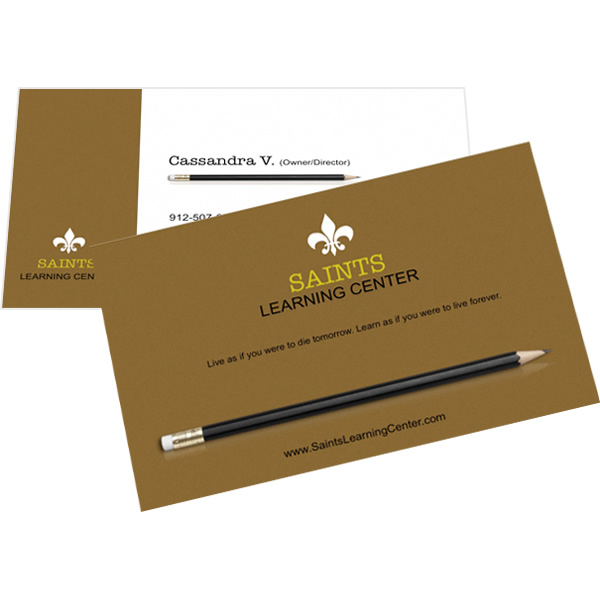 creating business cards