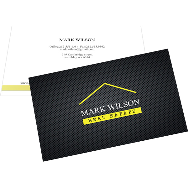 Business card templates sample make business card publisher plus business card template for real estate reheart Image collections
