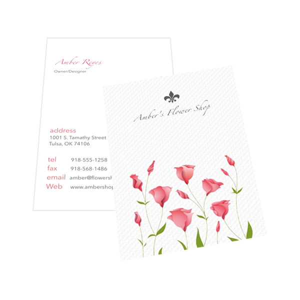 Publisher Business Card Template