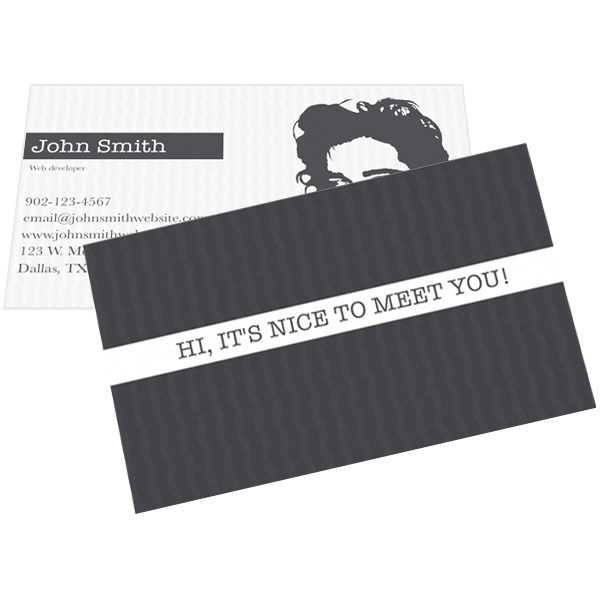 computer it services business card letterhead template word
