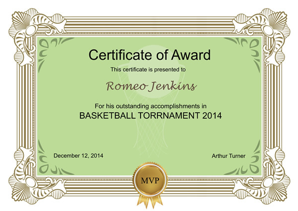 certificates templates sample design excellent certificates with