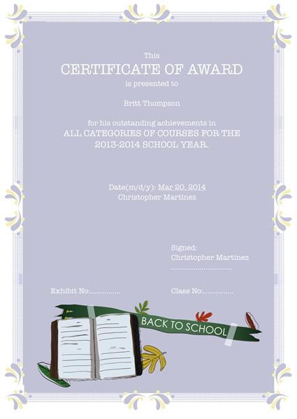 certificates templates  u0026 sample  u2013 design excellent certificates with publisher plus