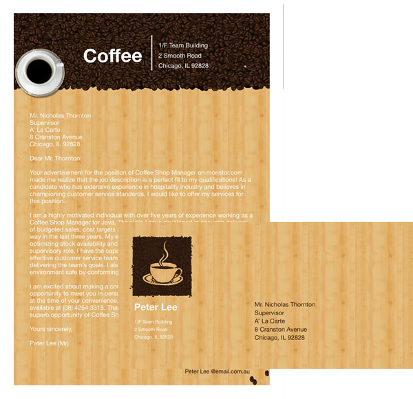 Envelope letter templates write a letter from templates coffee invitation letter template stopboris Gallery