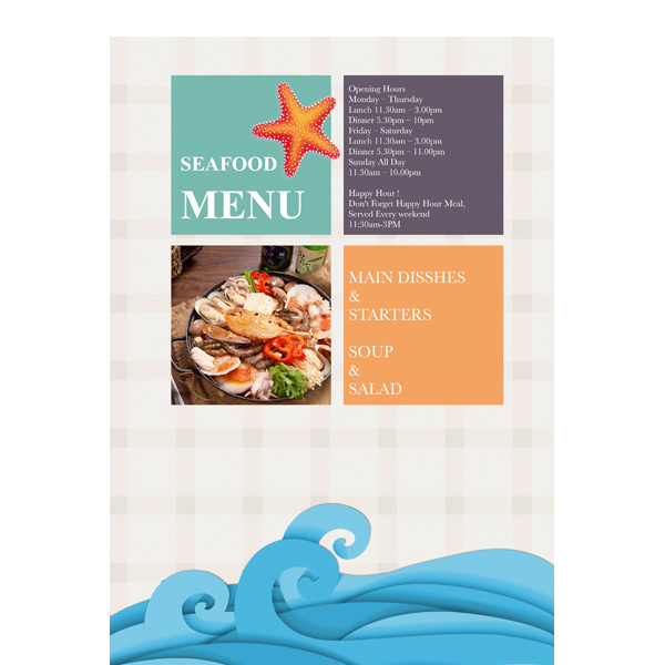 Menu Templates & Samples | Menu Maker – Publisher Plus