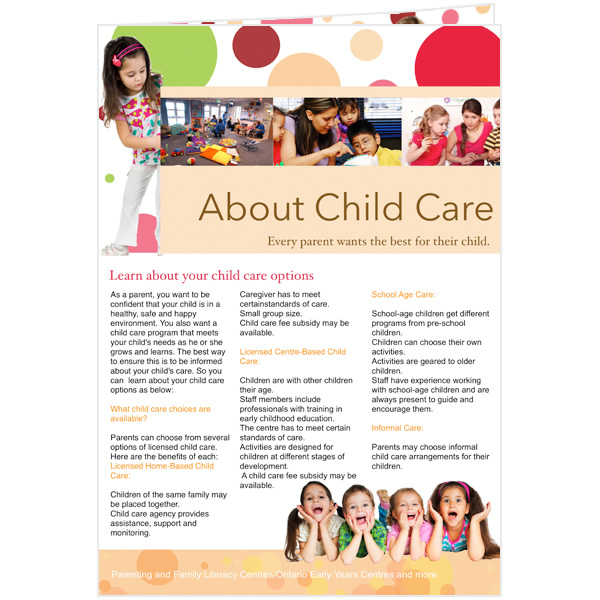 Newsletter templates samples newsletter publishing for Childcare newsletter templates