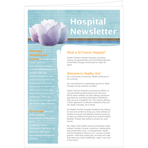 Newsletter Templates & Samples | Newsletter Publishing Software ...