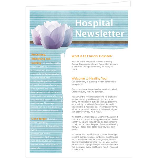 quarterly newsletter template