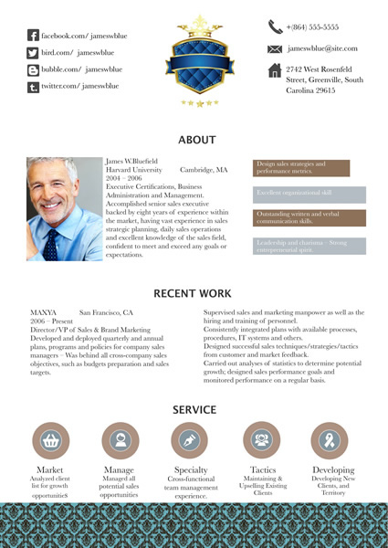 resume templates samples design resume from free templates