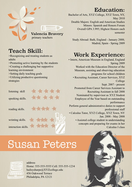 Resume Templates   Samples     Design Resume from free