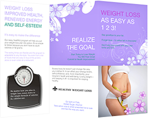 free weight loss brochure template