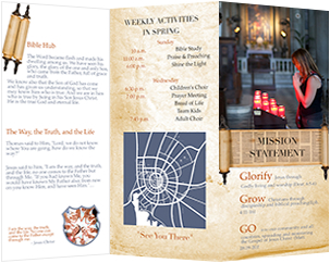 holly church brochure