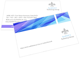 hospital business card template