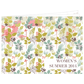 catalog template of women's summer 2014