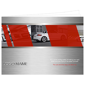 catalog template of car industry