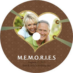 love memory disk cover