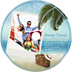yearly sweet travel disk cover