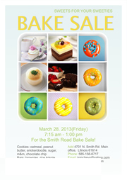 flyer templates for bake sale