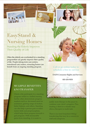 flyer template for nursing home