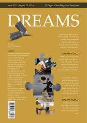 dream goal magazine printing