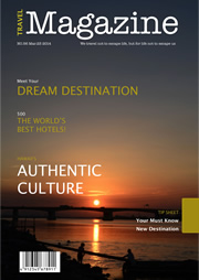 magazine template of authentic culture