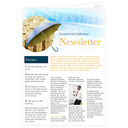 newsletter ideas for investment