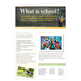 newsletter ideas of school