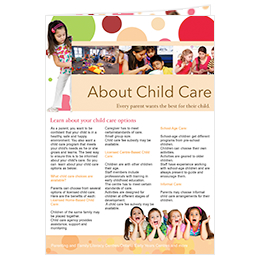 newsletter template about child care