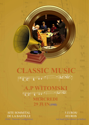 poster templates of classic music