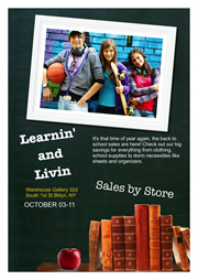 poster templates of learning and living