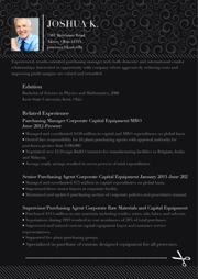 black resume templates and samples