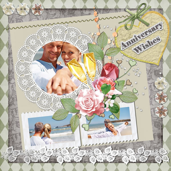 Anniversary Scrapbook Templates Samples Scrapbook Crafter For Mac