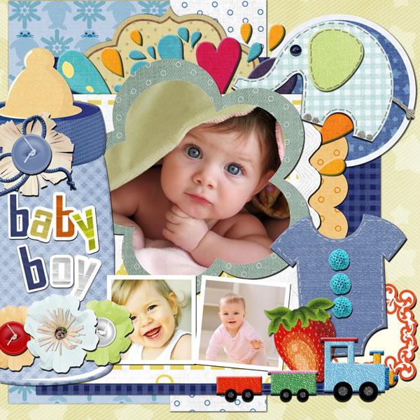 baby scrapbook templates baby scrapbook samples scrapbook crafter