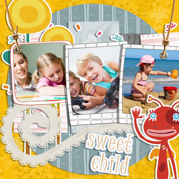 Kids Scrapbook Templates Kids Scrapbook Samples Kids Scrapbook Ideas