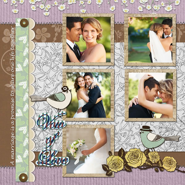 Wedding scrapbook templates wedding scrapbook designs wedding scrapbook template for wedding maxwellsz