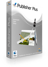desktop publishing software boxshot