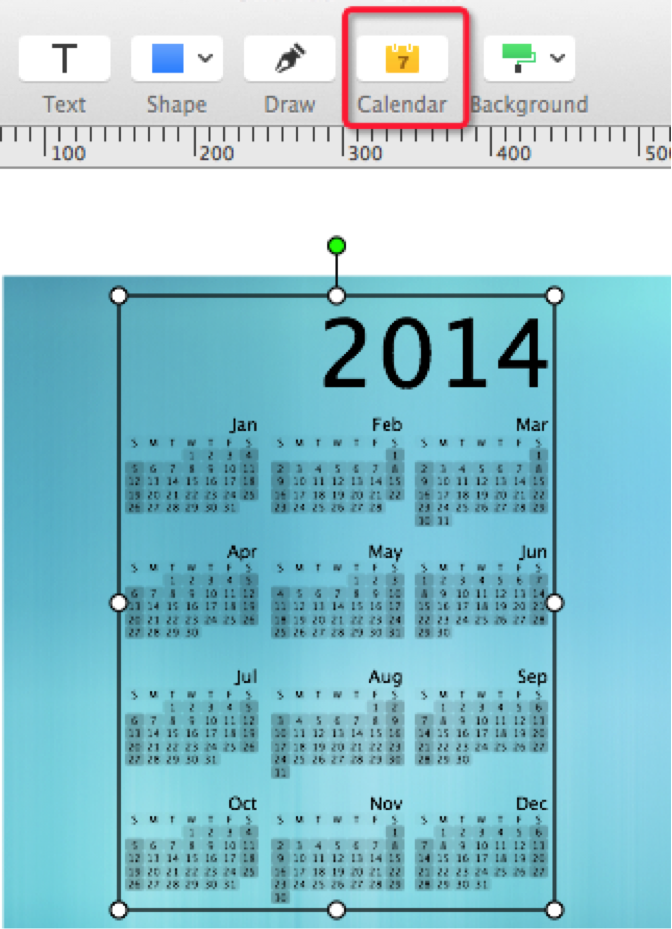 how to add a calendar on desktop