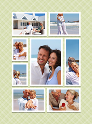 center collage template for lovers