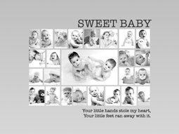 sweet baby center collage