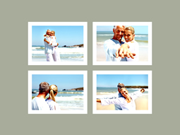 lovers in grid photo collage