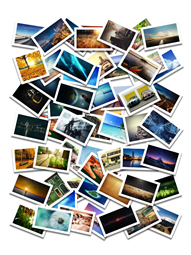 Pile your photos together to make a beautiful collage