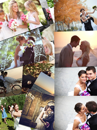 stunning pile photo collage template